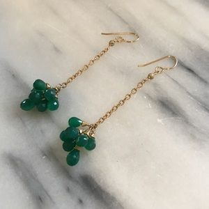 Jewelry - Turquoise Gemstone Drop Earrings